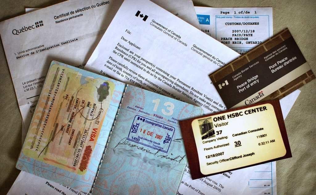 Оформление виз во Францию